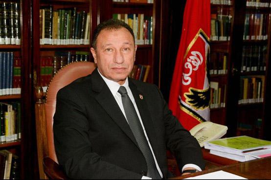 سرقة منزل رئيس الأهلي المصري