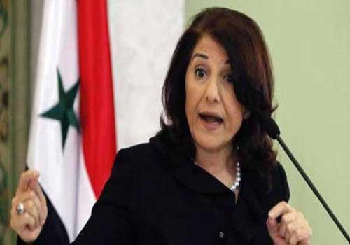 مستشارة الاسد : تحولاً سياسياً في الموقف التركي لصالح النظام  ..  وسوريا سوف تنتصر