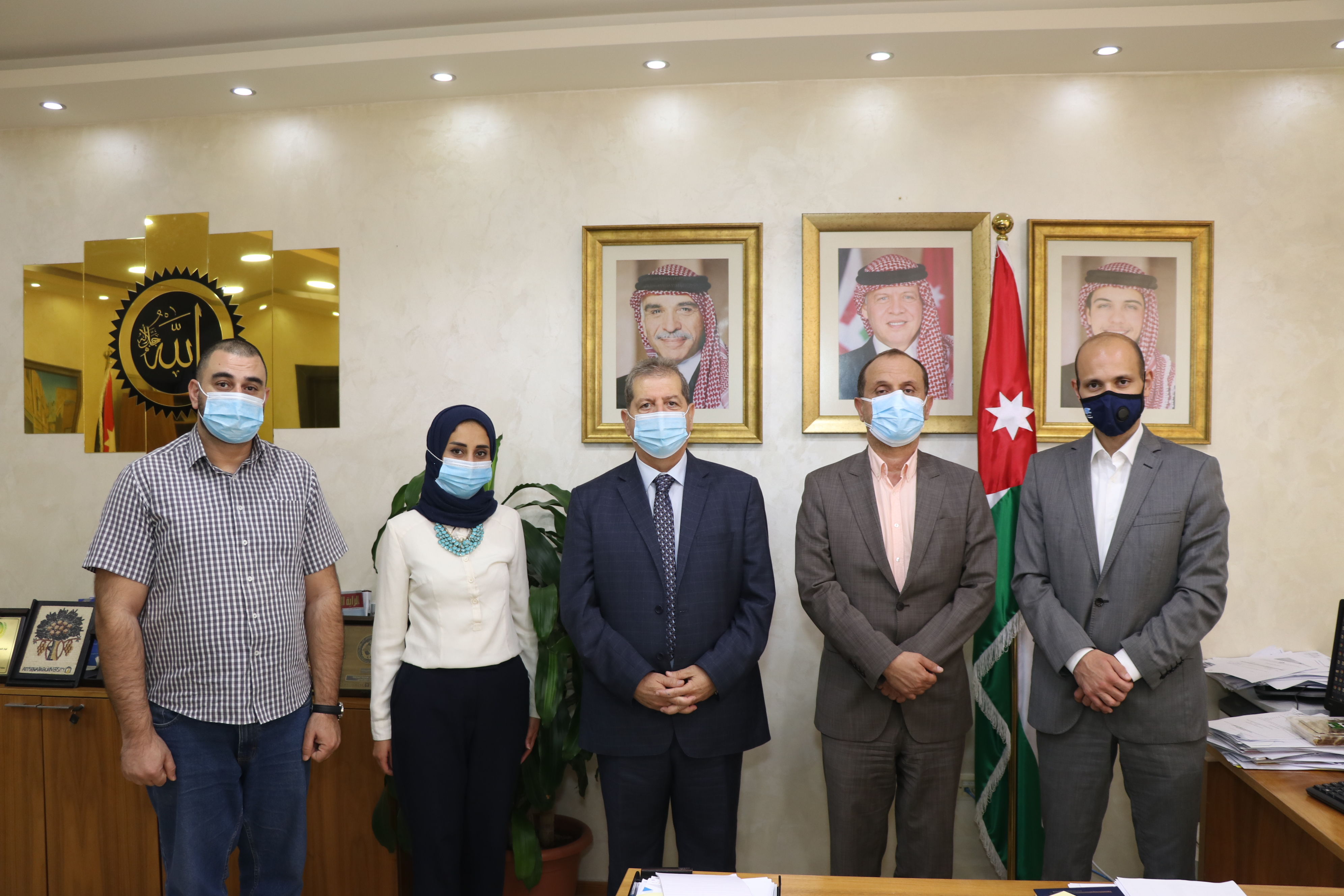 """بحث سبل التعاون بين """"عمان العربية"""" وهيئة تنشيط السياحة"""
