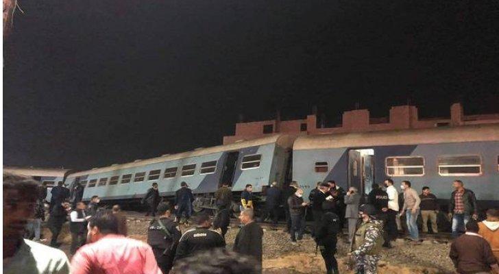 الكشف عن النتائج الأولية لحادث قطار المنيا القمح