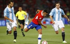 تشيلي تبحث عن اللقب الاول والأرجنتين تسعى لانهاء الصيام الطويل