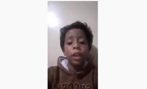 فيديو محزن ..  طفل محارب للسرطان يناشد الملك : بدي وظيفه لابوي