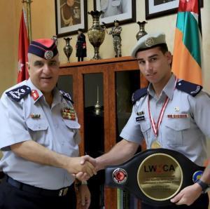 اللواء المتقاعد مصطفى البزايعة  ..  مبارك الثقة الملكية