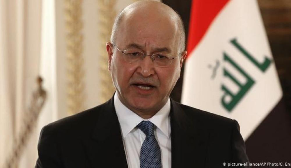 الرئيس العراقي يدعو لإعلان حالة الطوارئ ثلاثين يوما