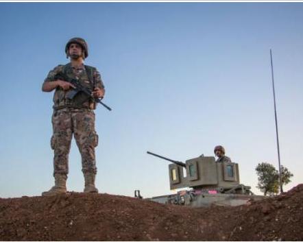 حماية الحدود ودحر الإرهاب مهما طال أمد الأزمة السورية