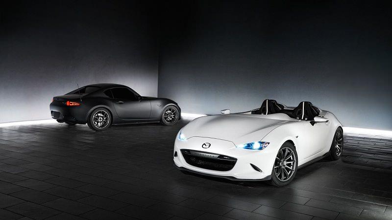 بالصور  ..  مازدا تكشف عن سيارتين جديدتين في سيما