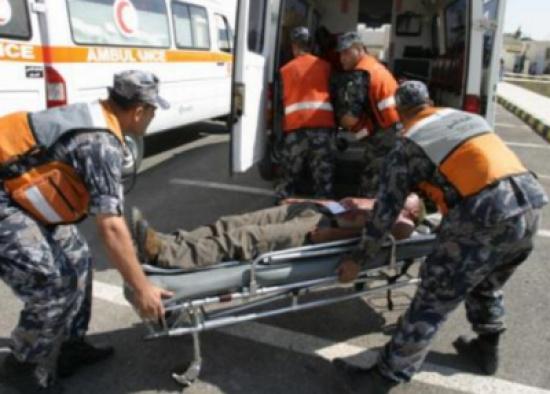 اصابة حرجة لعامل وطن اثر حادث دهس في العقبة ..  وفرار السائق