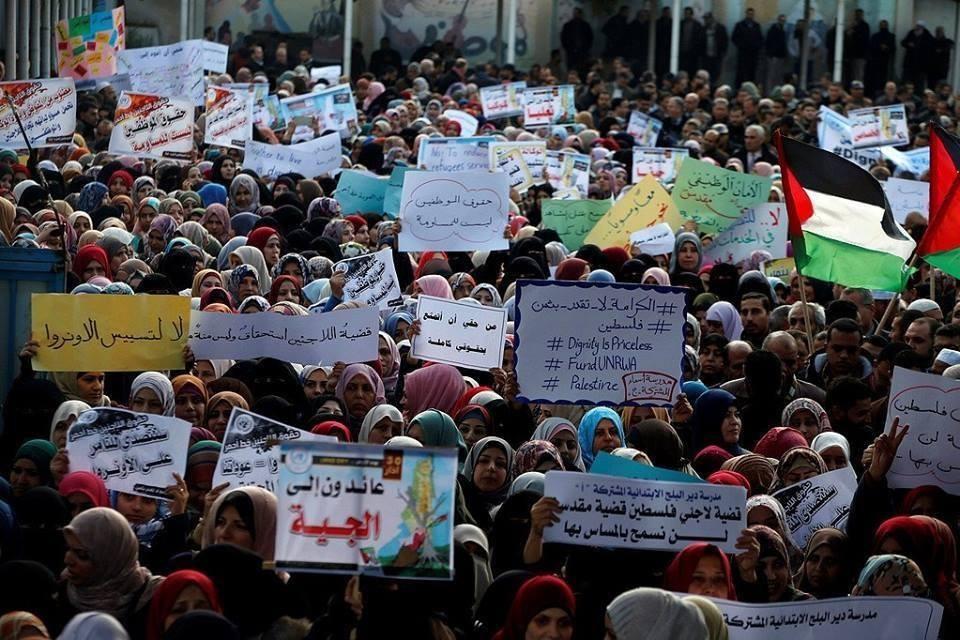 مسيرة جماهيرية في بيت لحم لتوجيه رسالة للأمم المتحدة بشأن الأونروا