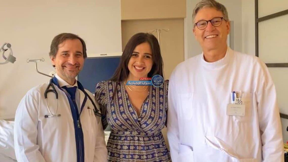 ياسمين عبد العزيز تظهر بعد انتهاء أزمتها الصحية