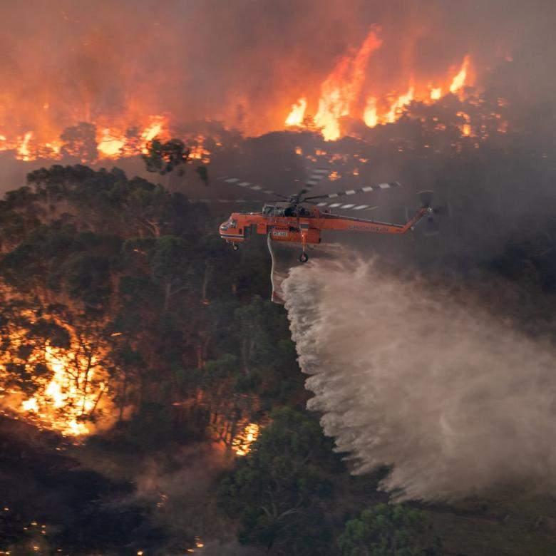 استراليا تسيطر على الحرائق بفضل الأمطار الغزيرة