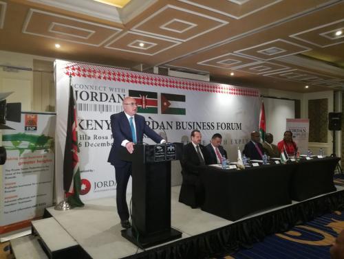 شحادة: وعد كيني بمنح 500 سلعة أردنية أفضليات جمركية