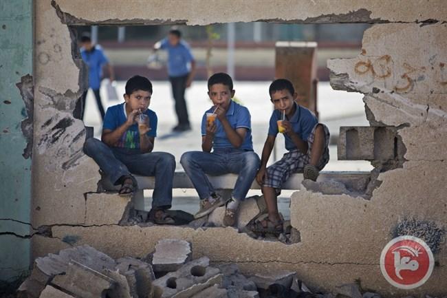 تعليق الدراسة في مدارس غزة