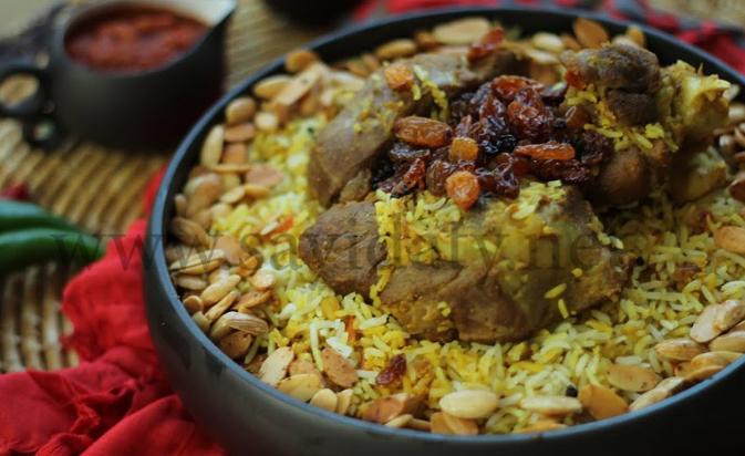 زربيان اللحم ..  من المطبخ السعودي