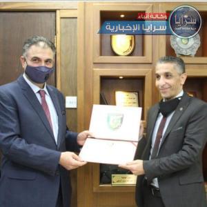 الاستاذ الدكتور محمد حمدي الصمادي  ..  مبارك الترقية