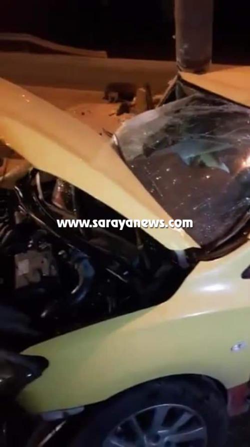 بالصور ..  إربد: حادث سير يوقع مطلوب خطير بقبضة الأمن