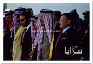 بالصور.. استعراض عسكري مهيب في ساحة الراية احتفاءاً بالملك سلمان