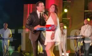 بالفيديو  ..  بعد رقصها المثير للجدل مع راغب علامة  ..  روجينا تعلق لأول مرة و هذا موقف زوجها