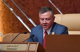 الملك يؤكد ضرورة تكثيف الجهود للتوصل إلى سلام عادل ودائم استنادًا إلى حل الدولتين