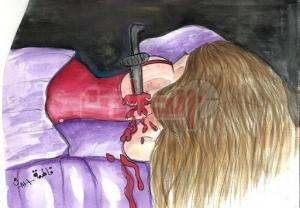 العثور علي جثة فتاه مقطوعة الرقبه وبها اثار تعذيب