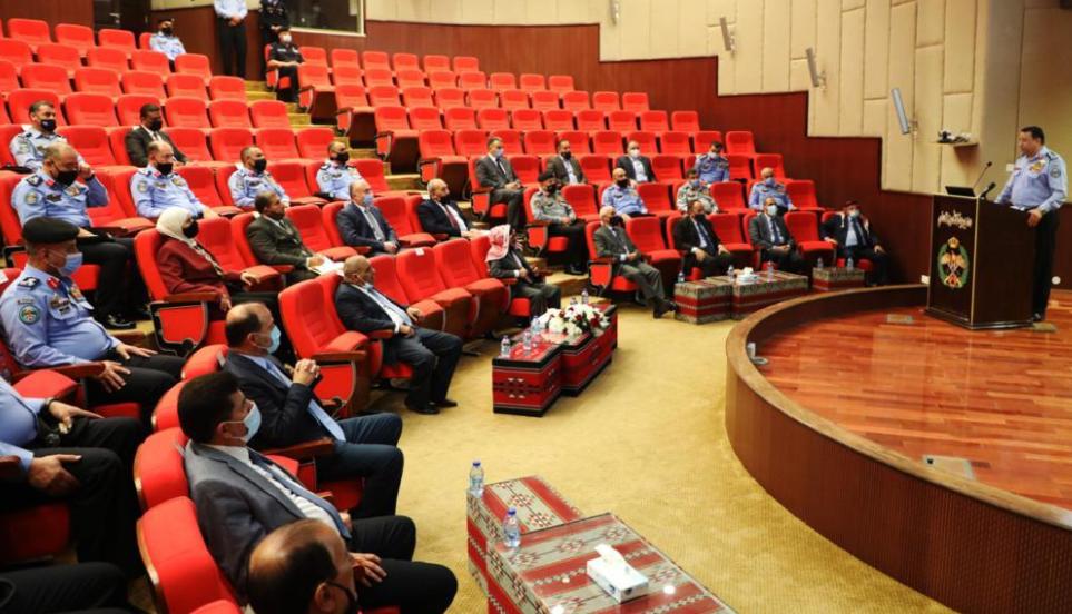 الحواتمة يلتقي أعضاء مجلس الأعيان من المتقاعدين العسكريين