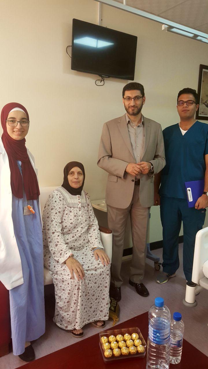 شكر وعرفان للجراح المبدع الدكتور أمجد بني هاني وطاقمه الطبي