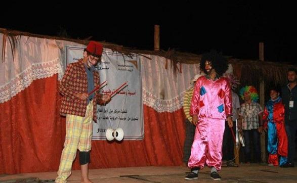 """بالصور والفيديو  ..  لأول مرة في غزة: مدرسة لتعليم """"السيرك"""""""