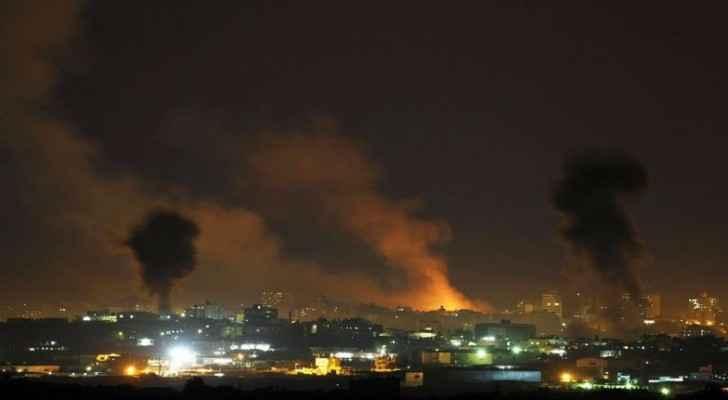 الاحتلال يشن غارات على قطاع غزة