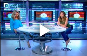 بالفيديو:موقف محرج لمذيعة لبنانية على الهواء:فكرت في بريك!
