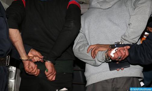القبض على  (9) اشخاص من المطلوبين والمشبوهين في قضايا ترويج المواد المخدرة في البادية الوسطى