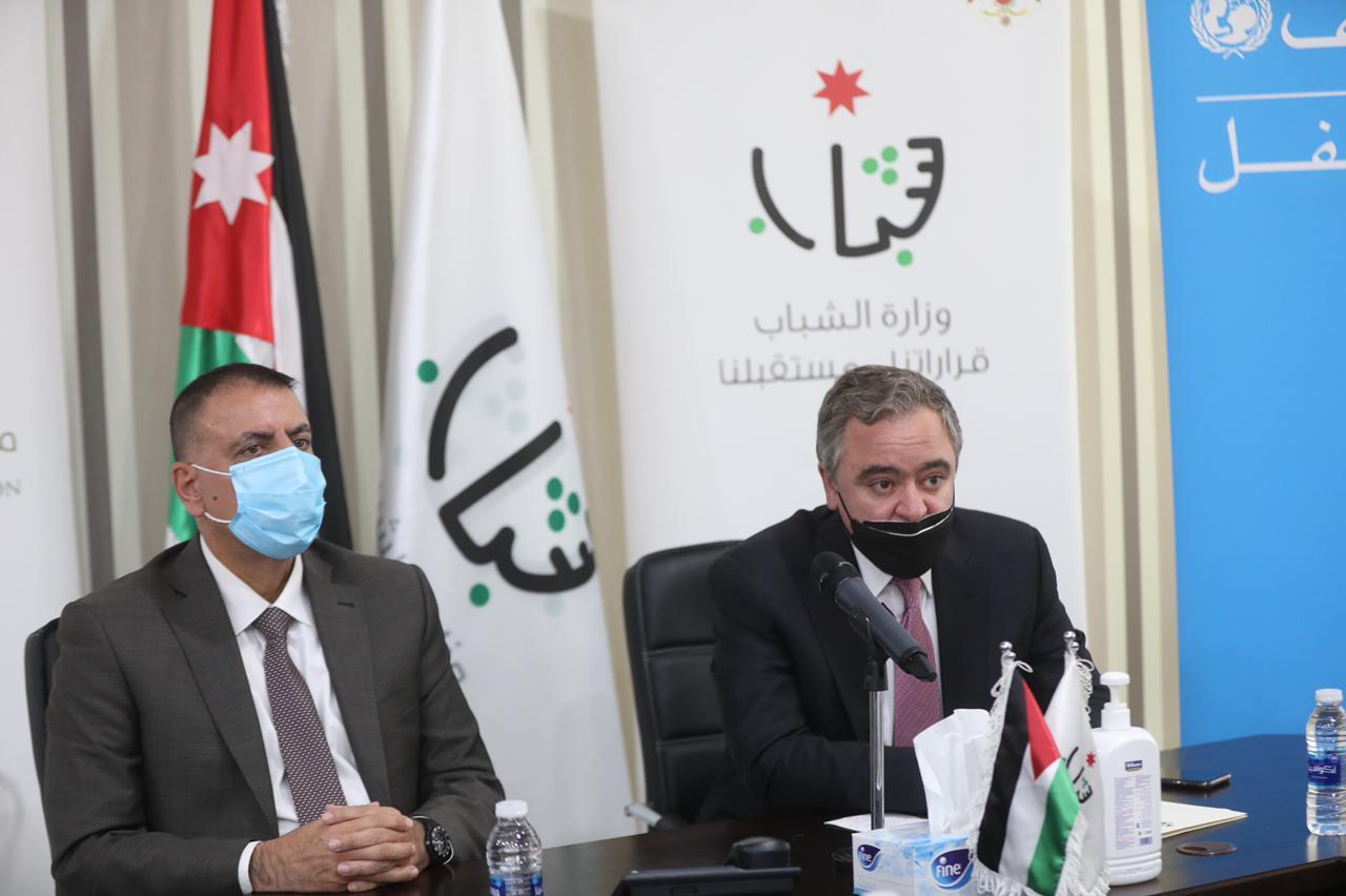 """رئيس الوزراء، النابلسي يطلق مبادرة """"شباب إلك وفيد"""" التوعوية"""