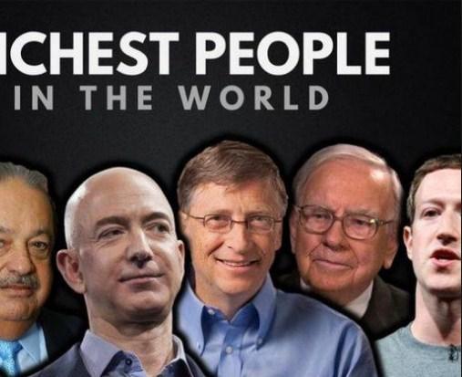 بالفيديو  ..  معلومات جديدة عن أغنى 10 أشخاص على وجه الأرض ..  تعرف إليهم