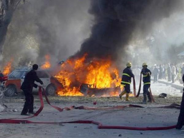 انفجار جديد ..  4 اصابات بانفجار داخلي في سوق الزاوية بمدينة غزة