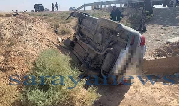 وفاة شقيقين إثرحادث تدهور على الطريق الصحراوي ..  صور