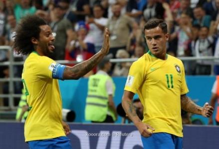 مدرب البرازيل يستدعي بديلي مارسيلو وكوتينيو