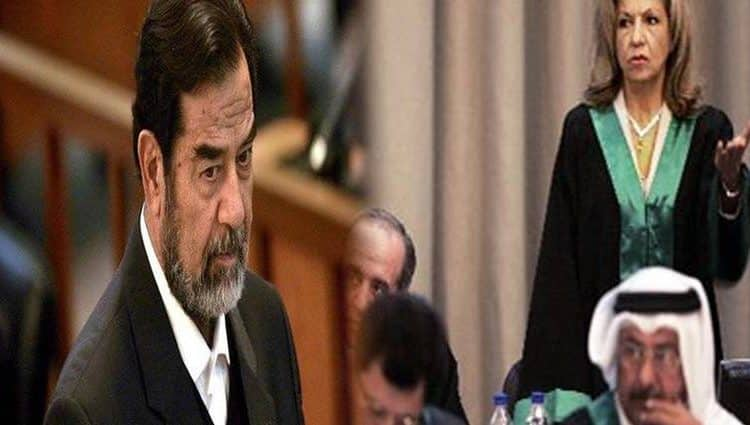 """محامية صدام حسين تكشف تفاصيل خطيرة لأول مرة عن محاكمته  ..  ماهي حكاية """"الفخ"""" و حافظ الأسد؟  ..  فيديو"""