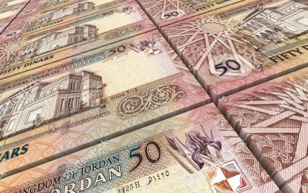 ارتفاع إجمالي الدين العام الأردني إلى 33.2 مليار دينار