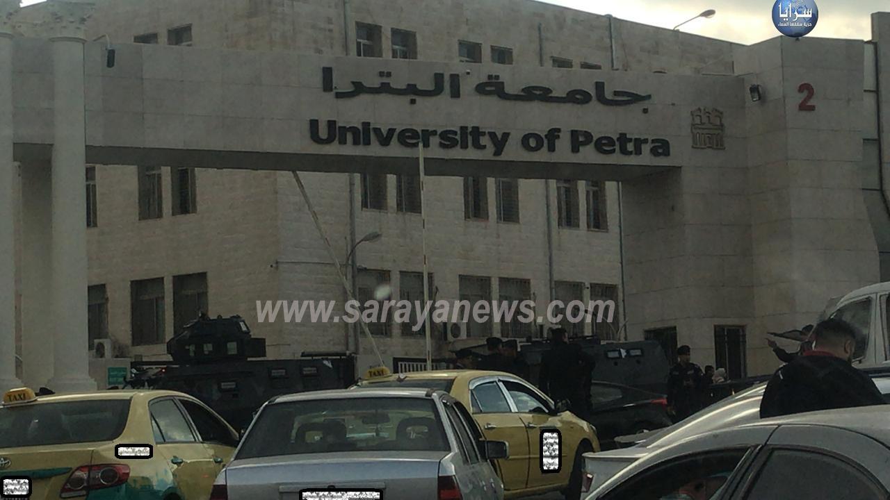 احالة (9) طلاب اشتركوا بمشاجرة جامعة البتراء للمدعي العام وتوقيفهم اسبوع بتهمة حيزة سلاح ناري