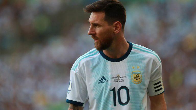 ميسي يقود استعدادات منتخب الأرجنتين لمواجهة البرازيل