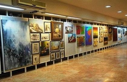 افتتاح معرض الفنون التشكيلية في دير علا