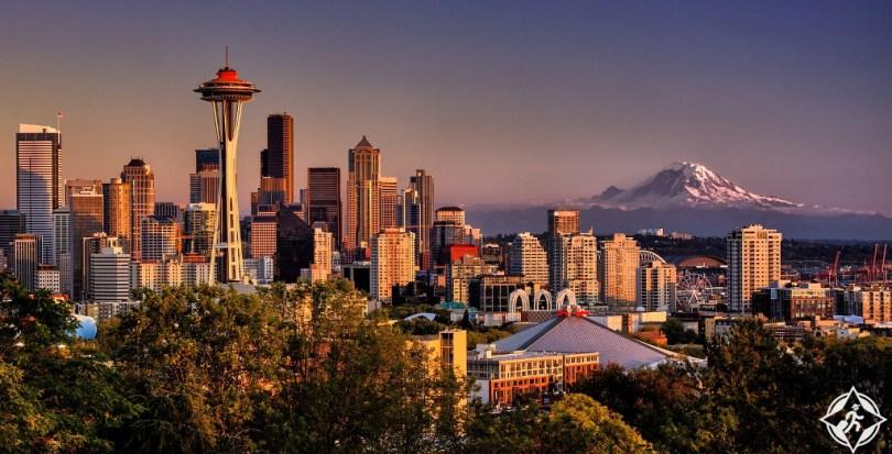 بالصور ..  أفضل 10 أماكن سياحية في سياتل الأمريكية