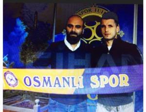 الأردني الشربيني يبدأ تدريباته مع فريق اوسمانلي سبور التركي