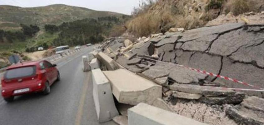 إربد :انزلاق في طريق الكورة يثير مخاوف مواطنين