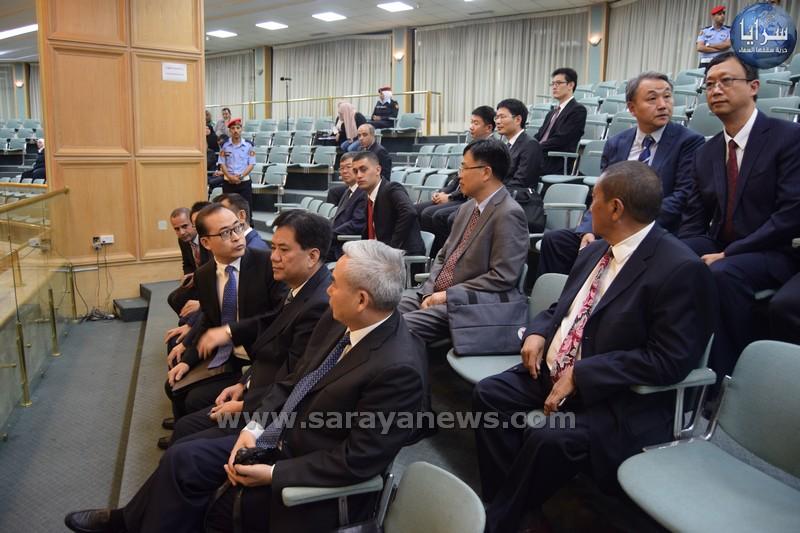 بالصور .. نائب رئيس اللجنة الوطنية للمؤتمر السياسي الصيني يزور مجلس النواب