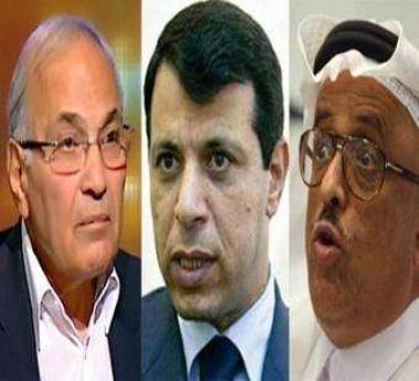 بلاغ يتهم خلفان ودحلان وشفيق بتنفيذ مخطط صهيوني لإسقاط مرسي