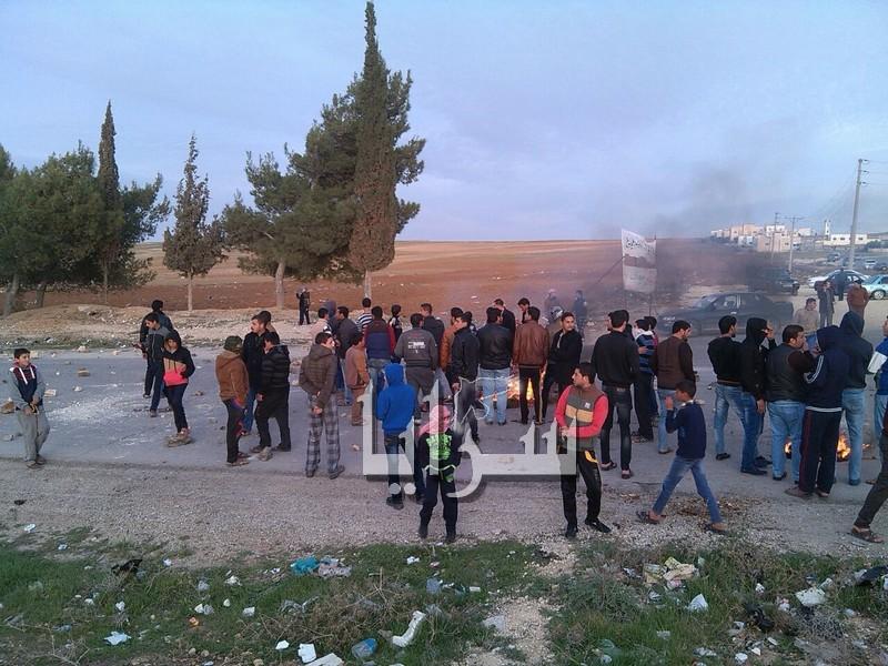 الكرك : احتجاجات للمطالبة بتحويل قضاء مؤاب إلى لواء (صور)