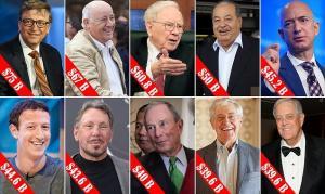 القائمة تخلو من العرب ..  من هم أغنى عشرة رجال في العالم ؟