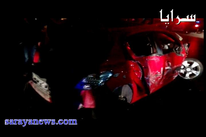 بالفيديو.. حادث تصادم في شارع الجامعة والدفاع المدني لم نتعامل معه
