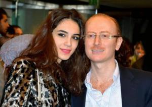 مصطفى الخاني 'النمس' ينفصل عن زوجته الفاتنة يارا الجعفري!