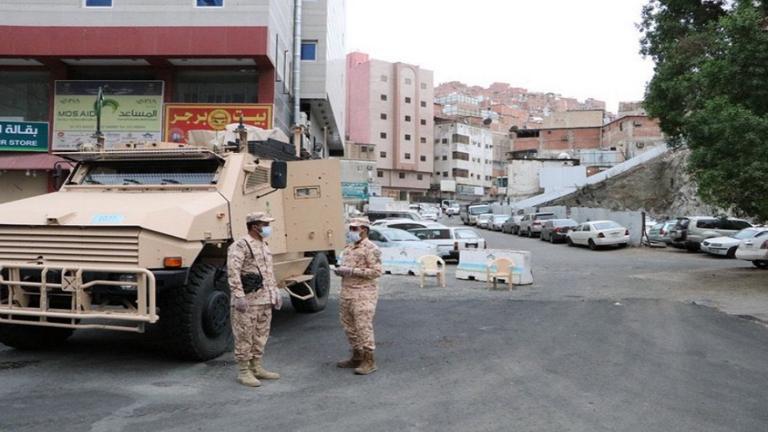 القبض على 34 مخالفا لقرار منع التجول في السعودية