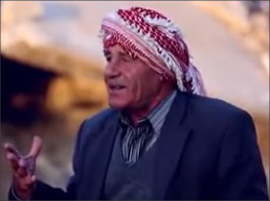 بالفيديو .. الحب هو فلسطين .. مسن يغني للقدس وفلسطين